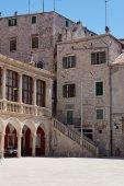 Side street in  Croatia — Stock Photo