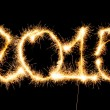 Happy New Year - 2015 made a sparkler — Stock Photo #54039089