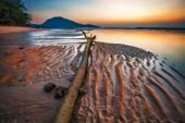 Sunset ebb — Stock Photo