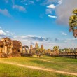 Angkor Wat temple in warm sunset light — Stock Photo #53331497