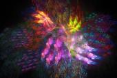 Abstract fractal background — Zdjęcie stockowe