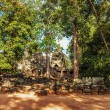 Ancient buddhist khmer temple in Angkor Wat complex — Stock Photo #61004263