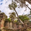 Ancient buddhist khmer temple in Angkor Wat complex — Stock Photo #61004289