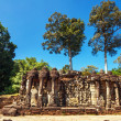 Ancient buddhist khmer temple in Angkor Wat complex — Stock Photo #61004311