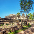 Ancient buddhist khmer temple in Angkor Wat complex — Stock Photo #61004323