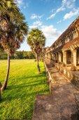 Angkor wat tempel — Stockfoto