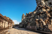 Angkor Wat inside — Stock Photo