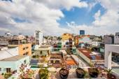 Day view of one of the oldest neighborhoods in Ho Chi Minh City — Stock Photo