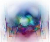 Fond abstrait fractal — Photo
