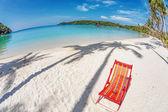 Sun beach chair — Stock Photo