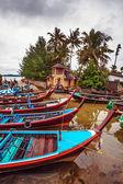 Traditional Thai boats — Stock Photo