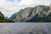 Western Brook Pond, Newfoundland, Canada — Stock Photo