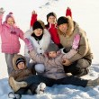 Family in the winter — Stock Photo #54295871