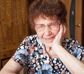 Anciana — Foto de Stock