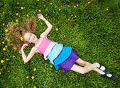 Child at summer — Stock Photo