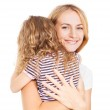 Child embracing mother — Stock Photo #59595389