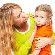 Mother comforting daughter — Stock Photo #61505105