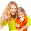 Happy mother with child — Stock Photo #61505107