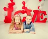 Kids love — Stock Photo