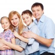 Happy family — Stock Photo #62542775