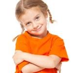 Little girl — Stock Photo #66196545