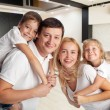 Family at home — Stock Photo #66936459