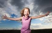 Happy child — Stock Photo