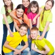 Group children — Stock Photo #71059197