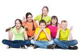 Group children — Stock Photo