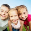 Children at summer — Stock Photo #76737823