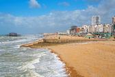 Brighton seafront. England — Stock Photo