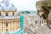 Gargoyle St. Mary The Virgins Church. Oxford, England — Stock Photo