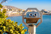 Tourist binoculars. Tenerife, Spain — Stock Photo