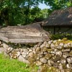 Old village. Saaremaa Island, Estonia — Stock Photo #58436041