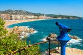 Tourist telescope. Lloret de Mar. Spain — Stock Photo