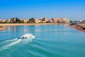 El Gouna resort. Egypt — Stock Photo