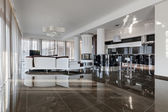 Modern luxury interior in daylight — Foto de Stock