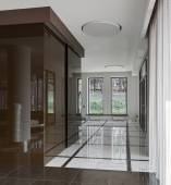 Luxe hall interieur — Stockfoto