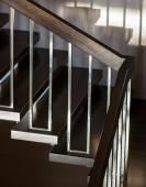 Staircase in modern interior — Foto Stock