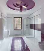 Interior de casa de banho de luxo — Fotografia Stock