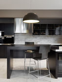 Modern kitchen interior — Fotografia Stock