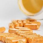 Many medicinal pills — Stock Photo #52133689
