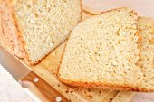 Barmy white bread — Stock Photo