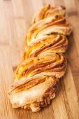 Bread twirl — Stock Photo