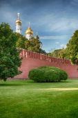 Moscow Kremlin in Russia — Stok fotoğraf