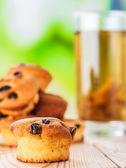 üzümlü kek — Stok fotoğraf