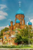 Cathedral of St. John Divine in Likino-Dulevo — Stock Photo