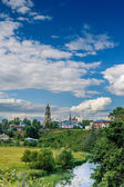 Venerable Monastery belfry Rizopolozhensky — Stock Photo
