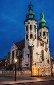 Church of St. Andrew of Krakow, Poland — Stock Photo