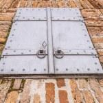 Vintage metal hatch — Stock Photo #58021251